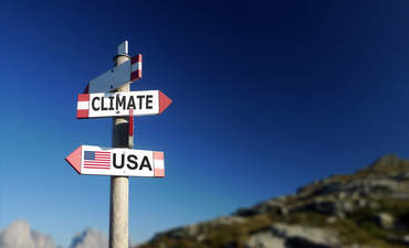 Climate and USA signs point in opposite directions