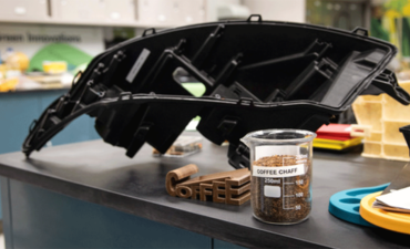 Ford's car parts made from coffee grains