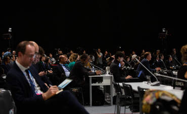 COP25 plenary session