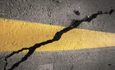 self-healing roadways sustainable material