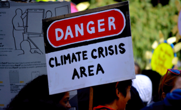 Climate Strike sign