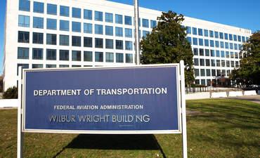 Department of Transportation sign