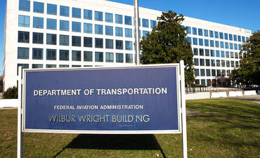 Department of Transportation sign