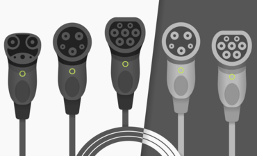 5 Electric Vehicle chargers