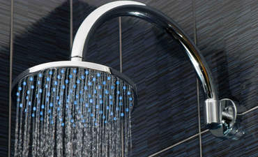 Huge showerhead