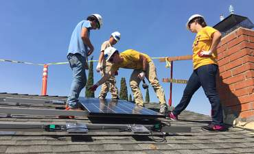 Installing solar power and paying it forward featured image