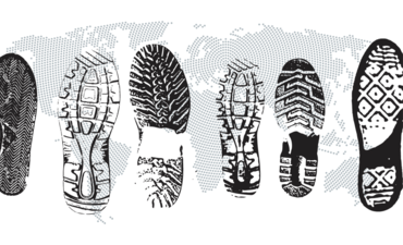 footprint on the world