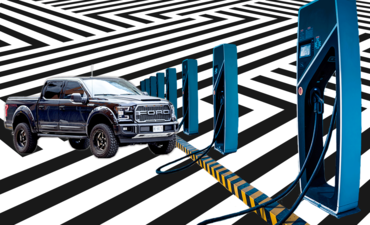 Ford F-150 and electric charging
