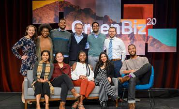 GreenBiz 20 Emerging Leaders with GreenBiz Group President Pete May