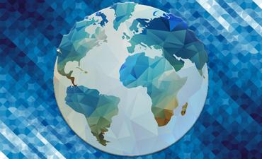 Patterned globe