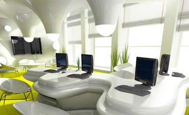 green workplace Internet of Things