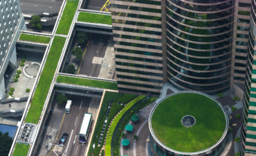 Opportunities abound in expanding green infrastructure. Here, an aerial view in Hong Kong.