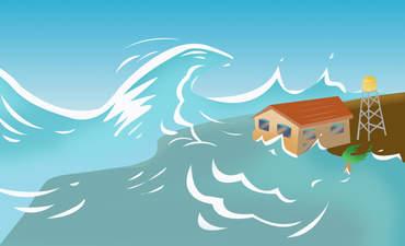hurricane and tsunami