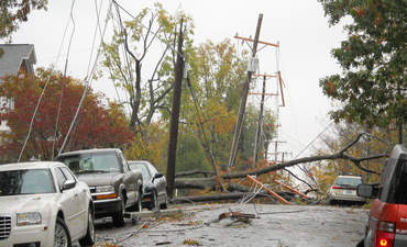 downed power lines energy resilience hurricane sandy