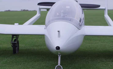 Microlight hybrid aircraft