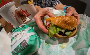 The Impossible Whopper at Burger King
