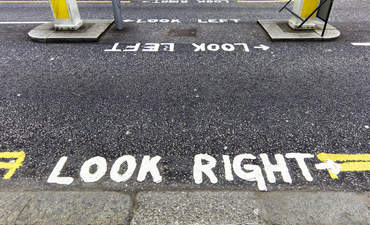 look left look right concept climate change politics