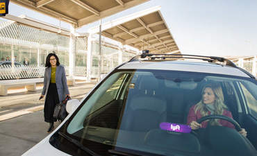 Lyft, ride sharing, carbon offsets