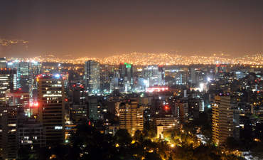 Downtown Mexico City.