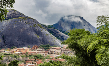 The Idanre Hill in Nigeria