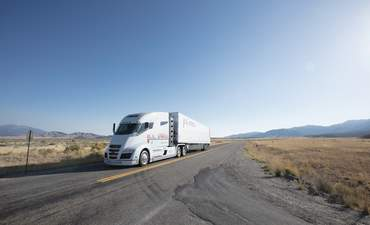 Nikola Motor Company's fuel cell-powered electric semi truck