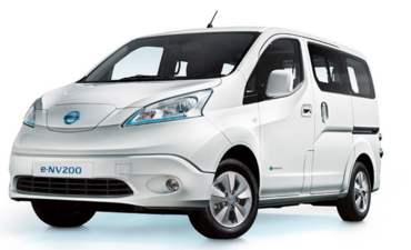 Nissan e-NV200 electric van commercial EV