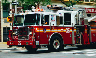 NYC fire truck