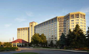 Exterior of Hilton Chicago Oak Brook Hills Resort & Conference Center