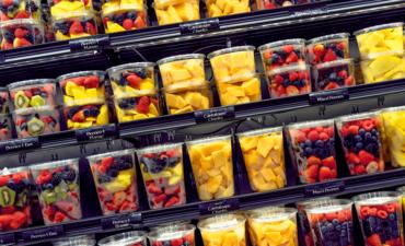 food packaging of fruit