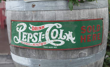Pepsi barrel