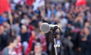 Politics, protest, advocacy