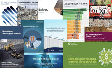 Report Report: Packaging, resiliency, extinction and the state of the transition featured image
