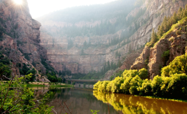 Glenwood Canyon Springs in the Roaring Fork Valley