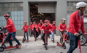 Scoot's Kick electric scooters launch in San Francisco
