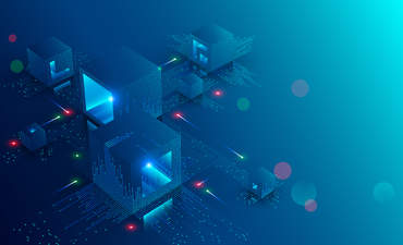 Blockchain concept art, energy