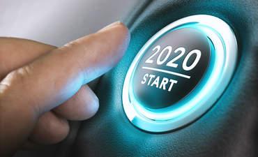 2020, start button