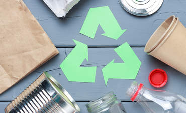 Recycling concept image