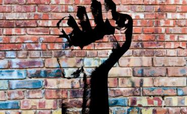 social justice, grafitti, fist