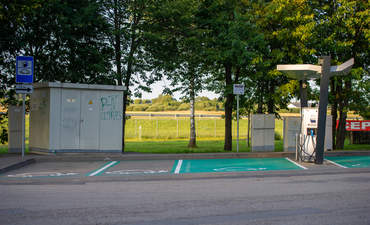 EV charging infrastructure, ABB