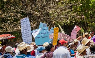 Honduras, mine project, indigenous protest, human rights