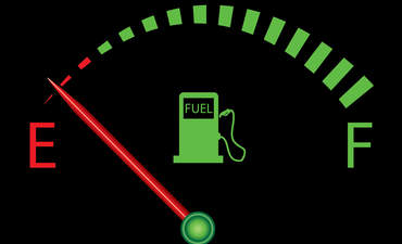 fuel gauge empty