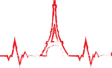 Eiffel tower cardiogram