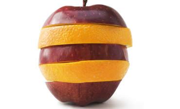 apple orange corporate sustainability reporting