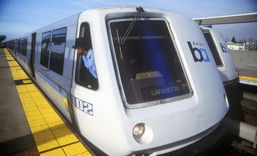 San Francisco BART sustainable transportation