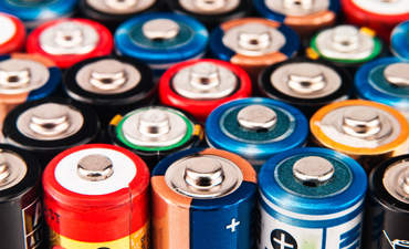 batteries e-waste recycling