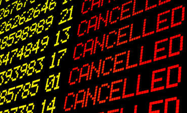 airports climate change risks cancelled flights