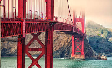Golden Gate Bridge american infrastructure