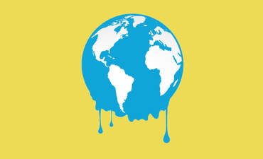 melting earth climate change