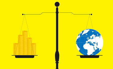supply and demand scales climate change