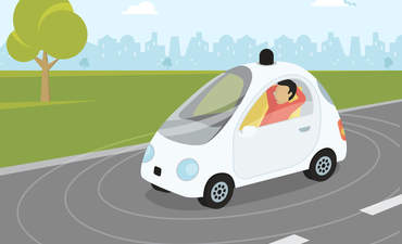 self-driving cars sustainable city